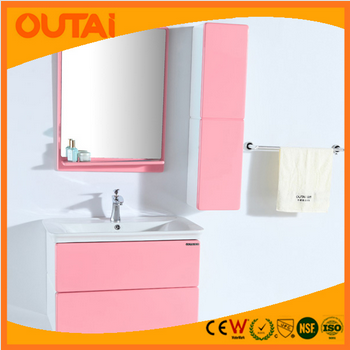 2015 Factory Production Custom Bathroom Cabinet PVC