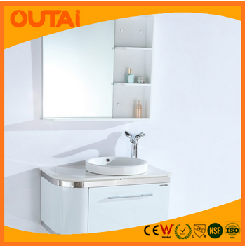 2015 China Factory Production Dubai Bathroom Mirror Cabinet