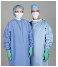 hubei mek xiantao disposable medical clothes nonwoven sterile surgical gown for easy use