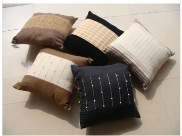 ramie fabric cover seat cushion