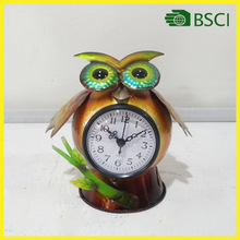 S14980 frog handicraft digital wall clock for home decoration