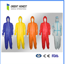 cheap working disposable colored overalls