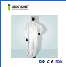 Disposable Nonwoven Waterproof working coverall