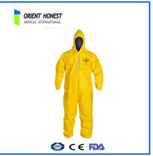 55g Disposable coverall with hood Large size