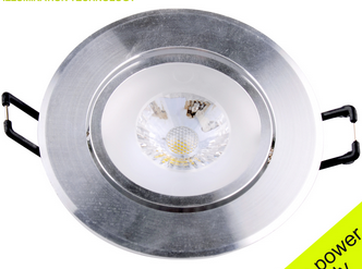 Unique Design Super Bright Led Lights Aluminum CRI 80 3w Cob Led Ceiling Light