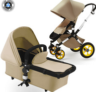 Multi-function Buggy High landscape Baby Stroller 3 Reclines Pushchair Good Baby Pram Superb Wagon with EN1888 Fashion Baby Gift