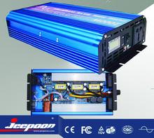 DC12V to AC220V pure sine wave 2000W power inverter, 2KW inverter, inverter 2000w