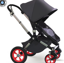 Folding Pushchair Black Baby Ware Good Stroller 3 in 1 Landscape High Quality complied EN1888 Xiamen Manufacturer