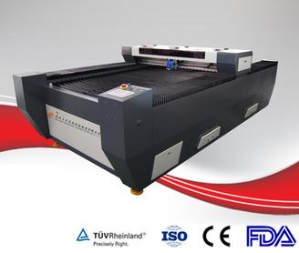Metal and non metal co2 laser mix cutting machine 150w/200w/260w