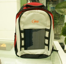water proof solar computer backpack laptop bag