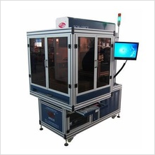 dynamic laser marking machine leather, rubber, wood board with RF metal laser tube