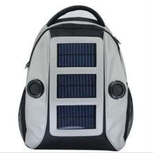2014 Sound speaker solar backpack 3W solar 3800mAh battery