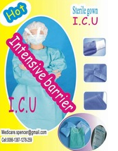 Sterile surgical gown (FDA,CE,ISO Approved)