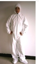 Disposable Coveralls (EN ISO 13485 approved)