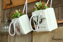 colorful porcelain flower pot fashion crafts