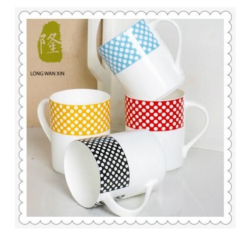 Customized Ceramic Coffee Mug with Handle