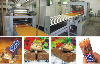 QH Fully-automatic Compound Sugar Bars Forming Line