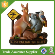 Australian souvenir wildlife fridge magnet