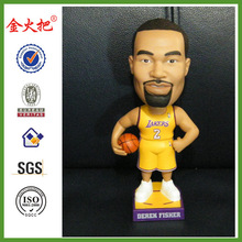 Popular Handmade NBA bobble head for decor