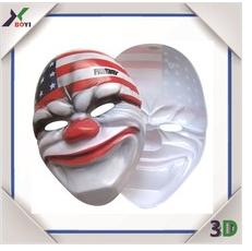 Wholesale Custom Printing Animal Party Mask/Carnival/Christmas/Halloween/Easter Day