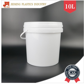 10 kg wall painting plastic barrel latex paint round buckets