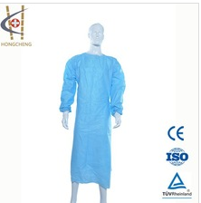 Hot product disposable anti-blood surgical gown