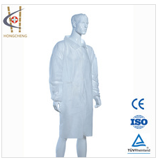 Hubei Fashionable Disposable Nonwoven Doctor Lab Coat