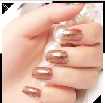 Water based bulk nail polish