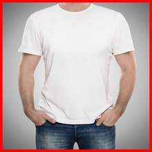 Wholesale plain white tshirts 100% cotton competitive price
