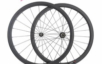 38mm Road Bicycle Tubular Wheelset Full Carbon Bicycle Wheelset 25mm Width Bike Wheels