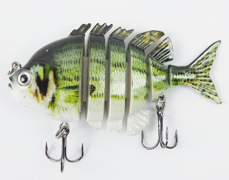 1Color Swimbait Hard Vib Wobbler Fishing Lure 7.8cm/14g Crankbait Hard Bait Fish Hook Fishing Tackle