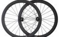 Carbon bike wheel clincher 50mm road bike carbon wheelset 3k glossy / matt carbon fiber wheels for bicycle