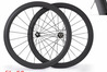 Carbon road bicycle wheels 700c full carbon road bike wheelset 50mm Tubular carbon wheels