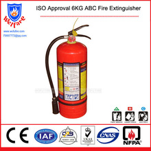 6KG ABC Fire Extinguisher, Fire Fighting Extinguisher, 6KG Extinguisher