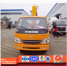 T-king 2ton xcmg truck mounted crane