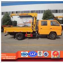 JMC truck with loading crane 2ton