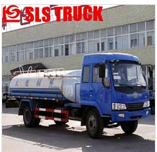 Best selling double axles DONGFENG 5000L motor flusher