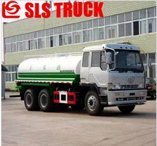 High quality double axles JAC 5000L motor flusher