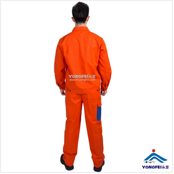 Contrast Color 100% Cotton Welding Uniform