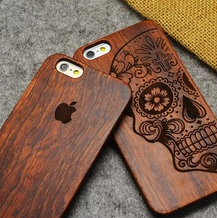 New Product Creative Solid Wood Dedicated Phone Shell