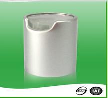 28/410 Aluminum Custom Cheap Cap Lid Cover Flip top cap;