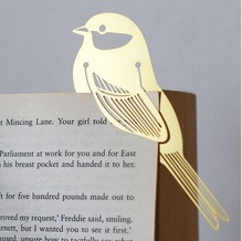 Bird clip bookmark