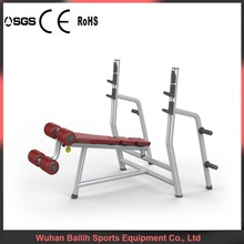 Plate Loaded Gym Exercise Machine/Decline Bench(luxury)/Adjustable Bench Bailih S270