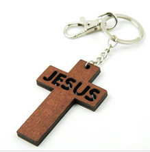 Jesus wood keychain - laser cutting