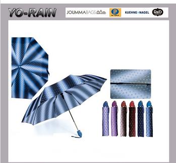 Yo rain Cheap price wholesale 3 folding auto umbrella cheap folding umbrella