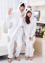 Stocked Big Hero Baymax cosplay costumes unisex adults couple lovers sleeping wear