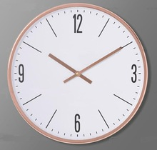 modern fashion plastic wall clock