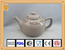 2015 new design hand printed ceramic water pot