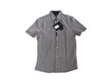 Cotton short-sleeve men's shirt