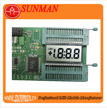 Digital voltmeter lcd module with 5v operating voltage